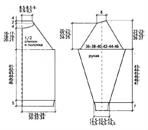 Схема вязания мужской жакет на молнии и шапка с орнаментом раздел для мужчин мужские кофты спицами