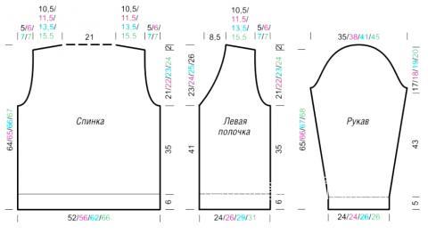 Схема вязания мужской жакет с рельефным узором раздел для мужчин мужские кофты спицами