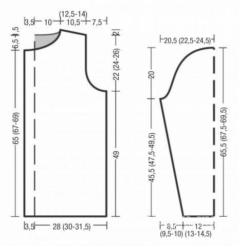 Схема вязания мужской жакет с узорами из кос и ромбов раздел для мужчин мужские кофты спицами