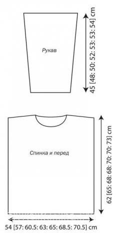 Схема вязания пуловер для мужчины с косами и крестами раздел для мужчин мужские кофты спицами
