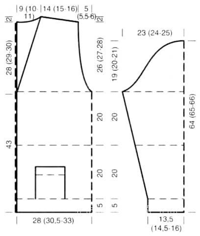 Схема вязания жаккардовая кофта с шалевым воротником раздел для мужчин мужские кофты спицами
