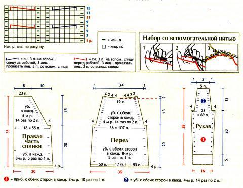 Схема вязания детское голубое платье с капюшоном раздел для детей детские платья, сарафаны