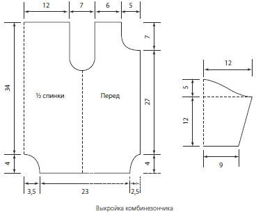 Схема вязания комбинезон для детки и шапочка раздел для детей детские штанишки