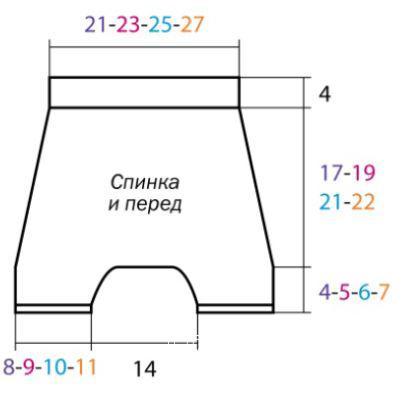 Схема вязания шорты для ребенка песочного цвета раздел для детей детские штанишки
