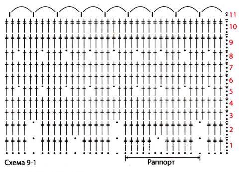 Схема вязания длинная ажурная юбка на завязках раздел вязание крючком для женщин юбки для женщин