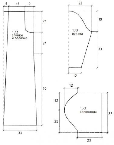 Схема вязания разноцветное пальто в полоску раздел вязание крючком для женщин пальто