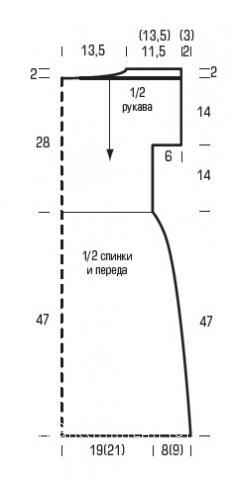Схема вязания ажурное приталенное платье без рукавов раздел вязание спицами для женщин платья, сарафаны для женщин