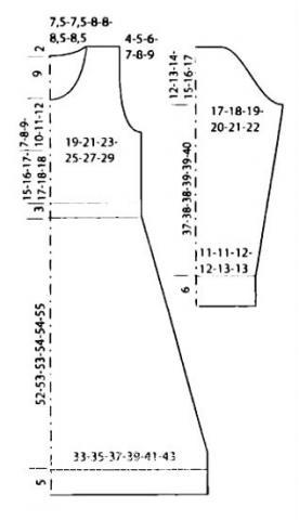 Схема вязания цветное платье с поясом раздел вязание спицами для женщин платья, сарафаны для женщин