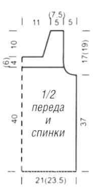 Схема вязания ажурный топ в полоску раздел вязание спицами для женщин кофты спицами женские