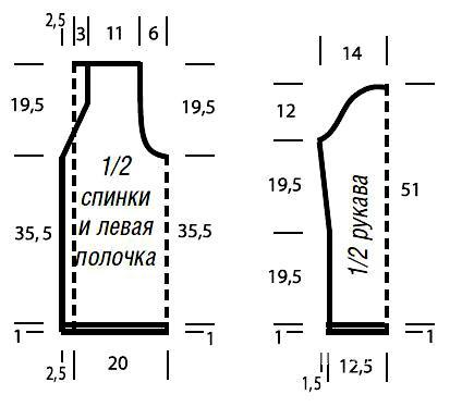 Схема вязания ажурный жакет с листьями раздел вязание спицами для женщин кофты спицами женские