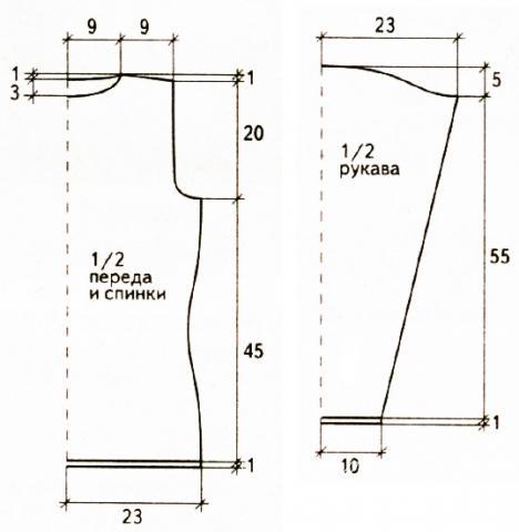 Схема вязания белый ажурный джемпер  раздел вязание спицами для женщин кофты спицами женские