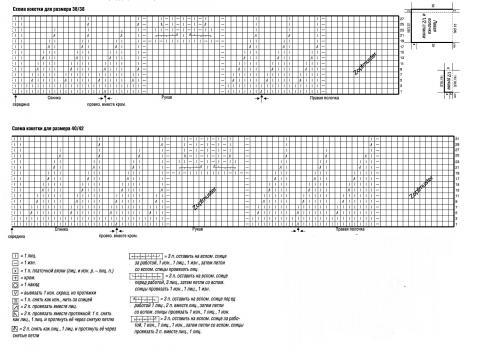 Схема вязания белый ажурный жакет  раздел вязание спицами для женщин кофты спицами женские
