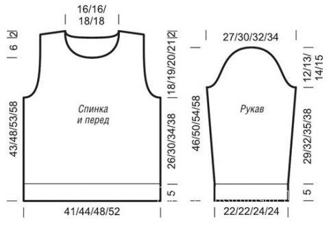 Схема вязания детский двухцветный джемпер с косами раздел вязание спицами для женщин кофты спицами женские