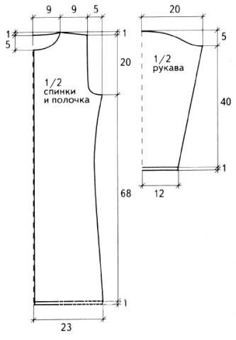 Схема вязания длинный кардиган с ажурным узором раздел вязание спицами для женщин кофты спицами женские
