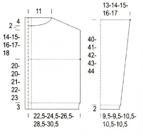 Схема вязания дырявый жакет с пуговицами на спине раздел вязание спицами для женщин кофты спицами женские