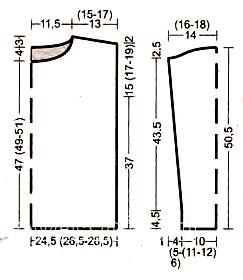 Схема вязания джемпер с ажурным узором пастельных тонов раздел вязание спицами для женщин кофты спицами женские