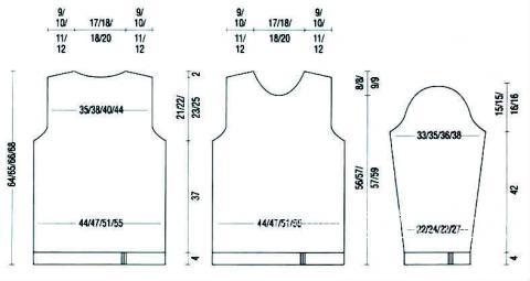 Схема вязания джемпер с цветным узором раздел вязание спицами для женщин кофты спицами женские