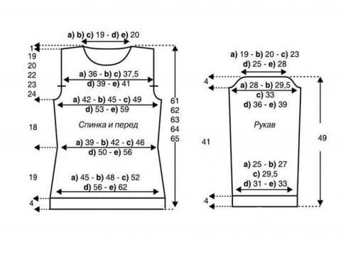 Схема вязания кофта с открытыми плечами и берет раздел вязание спицами для женщин кофты спицами женские