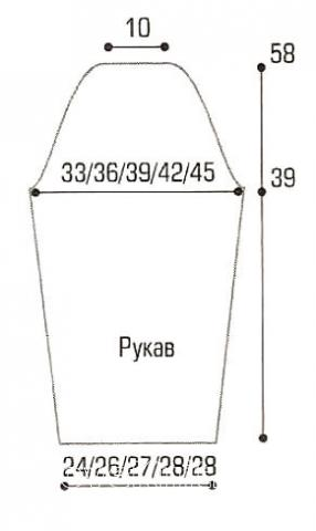 Схема вязания мохеровый жакет в полоску раздел вязание спицами для женщин кофты спицами женские