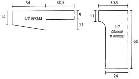 Схема вязания полупрозрачный джемпер с ажурным узором раздел вязание спицами для женщин кофты спицами женские
