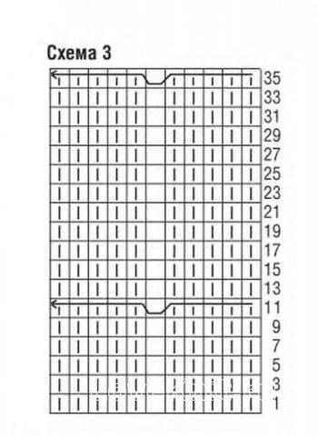 Схема вязания пуловер с отделкой из кос раздел вязание спицами для женщин кофты спицами женские