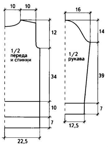 Схема вязания рельефная кофта с косами раздел вязание спицами для женщин кофты спицами женские