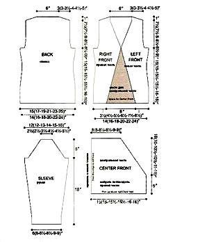 Схема вязания серый джемпер со вставкой раздел вязание спицами для женщин кофты спицами женские