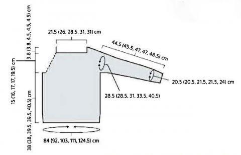 Схема вязания сетчатый джемпер с широким воротником раздел вязание спицами для женщин кофты спицами женские