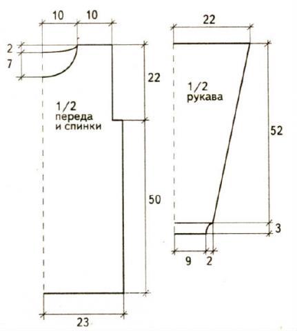 Схема вязания сиреневый джемпер с ажурным узором раздел вязание спицами для женщин кофты спицами женские
