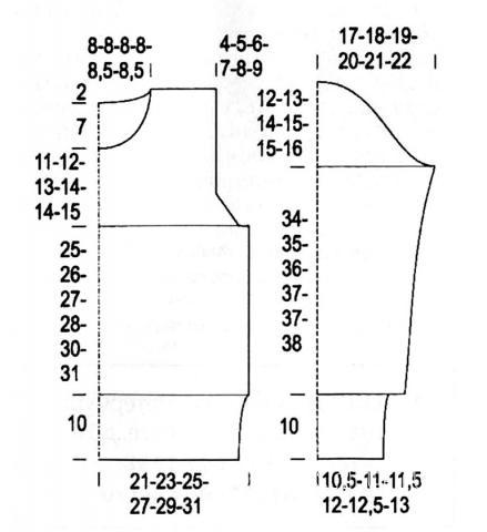 Схема вязания свитер с оленями в бело-розовой гамме раздел вязание спицами для женщин кофты спицами женские