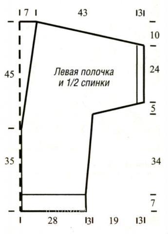 Схема вязания свободный кардиган без застежек раздел вязание спицами для женщин кофты спицами женские