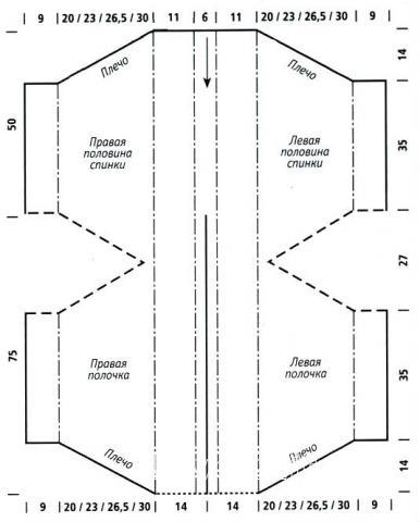 Схема вязания свободный меланжевый кардиган с рельефным узором раздел вязание спицами для женщин кофты спицами женские