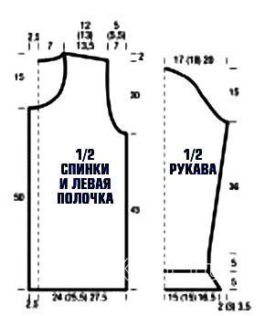 Схема вязания удлиненный голубой жакет раздел вязание спицами для женщин кофты спицами женские