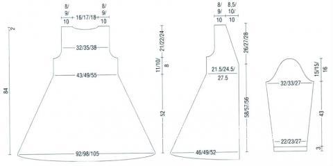Схема вязания удлинный кардиган с пуговицами раздел вязание спицами для женщин кофты спицами женские