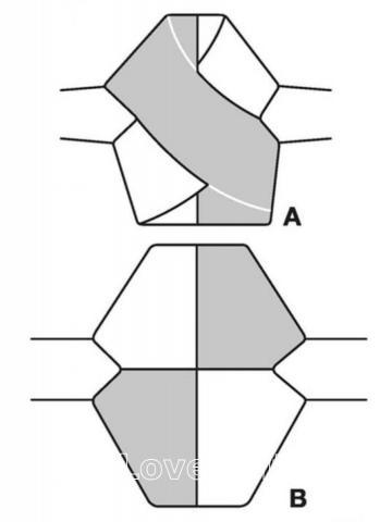 Схема вязания укороченный пуловер с перекрещенными полочками раздел вязание спицами для женщин кофты спицами женские