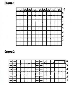 Схема вязания укороченный жакет-трансформер раздел вязание спицами для женщин кофты спицами женские
