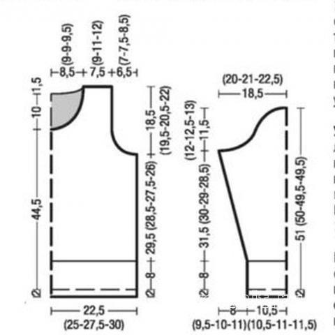 Схема вязания укороченный жаккардовый пуловер с цветочными мотивами раздел вязание спицами для женщин кофты спицами женские
