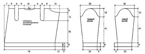 Схема вязания вязаная курточка на молнии раздел вязание спицами для женщин кофты спицами женские