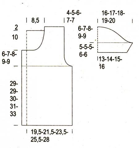 Схема вязания яркий короткий жакет на пуговицах раздел вязание спицами для женщин кофты спицами женские