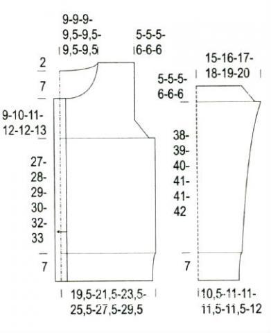 Схема вязания жакет на пуговицах с рельефным узором раздел вязание спицами для женщин кофты спицами женские