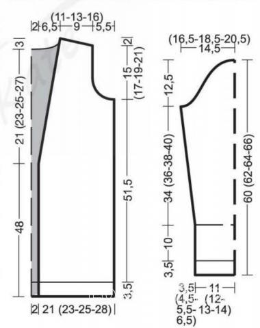 Схема вязания цветной кардиган с шалевым воротником раздел вязание спицами для женщин жакеты спицами