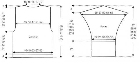 Схема вязания объемная куртка с высоким воротником раздел вязание спицами для женщин жакеты спицами