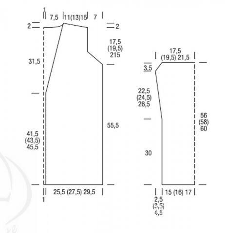 Схема вязания свободный жаккардовый кардиган с поясом раздел вязание спицами для женщин жакеты спицами