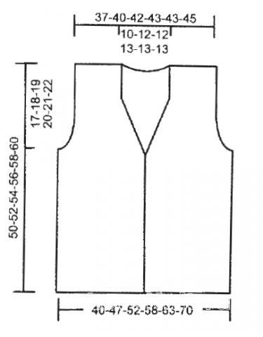 Схема вязания ажурный жилет с бахромой раздел вязание спицами для женщин жилеты для женщин