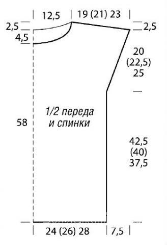 Схема вязания безрукавка и шапка с яркими полосами раздел вязание спицами для женщин жилеты для женщин