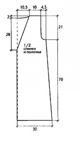 Схема вязания длинный жилет с накладными карманами раздел вязание спицами для женщин жилеты для женщин