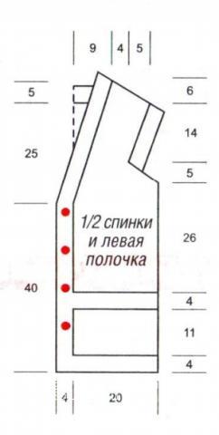 Схема вязания удлиненный жилет с накладными карманами раздел вязание спицами для женщин жилеты для женщин