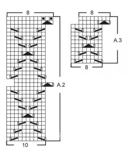 Схема вязания ажурный шарф труба раздел вязание спицами для женщин вязаные шарфы модные модели