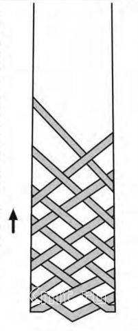 Схема вязания мохеровый шарф с сочетанием ажурных узоров раздел вязание спицами для женщин вязаные шарфы модные модели