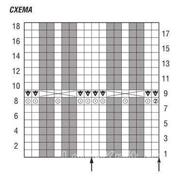 Схема вязания дырявчатое пончо с бахромой раздел вязание спицами для женщин накидки и болеро для женщин